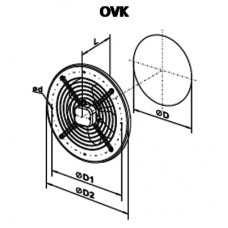 OVK 2E 250 Ventilator Axial
