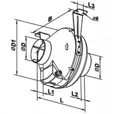 VK 125 Ventilator Centrifugal