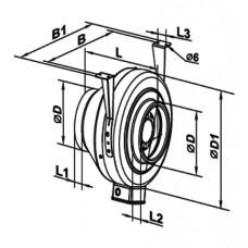 125 Ventilator Centrifugal