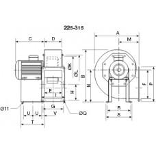 CHMT/4- 315 Ventilator