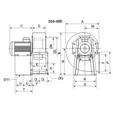 CHMT/4- 400 Ventilator