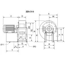 CHMT/4- 250 Ventilator