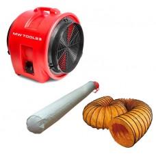 Set ventilator portabil MV400PP